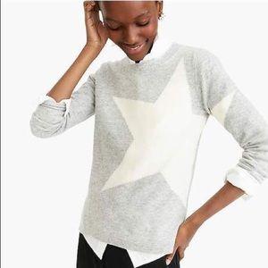 J.Crew Cashmere Star Sweater!